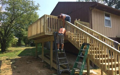 Deck Builder Springfield IL 1 | Cleeton Construction Inc