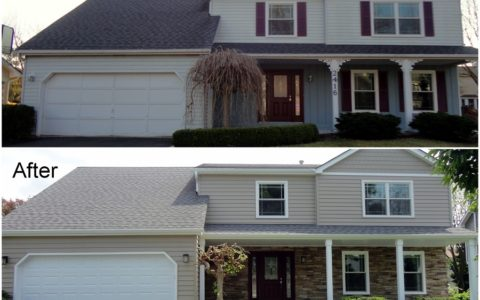 Vinyl Siding Installation Springfield IL 2 | Cleeton Construction Inc